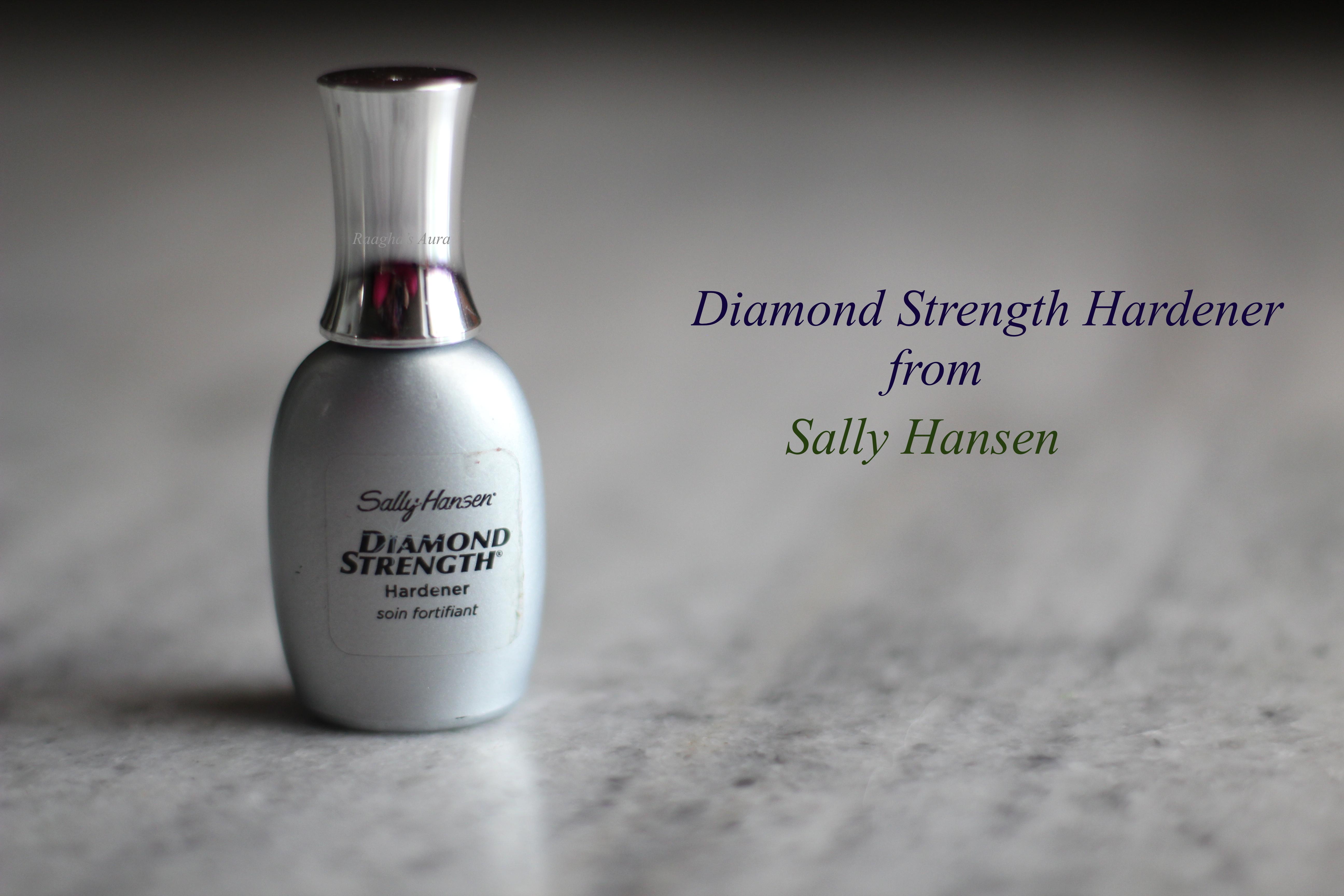 Sally Hansen Diamond Strength Instant Nail Hardener Review