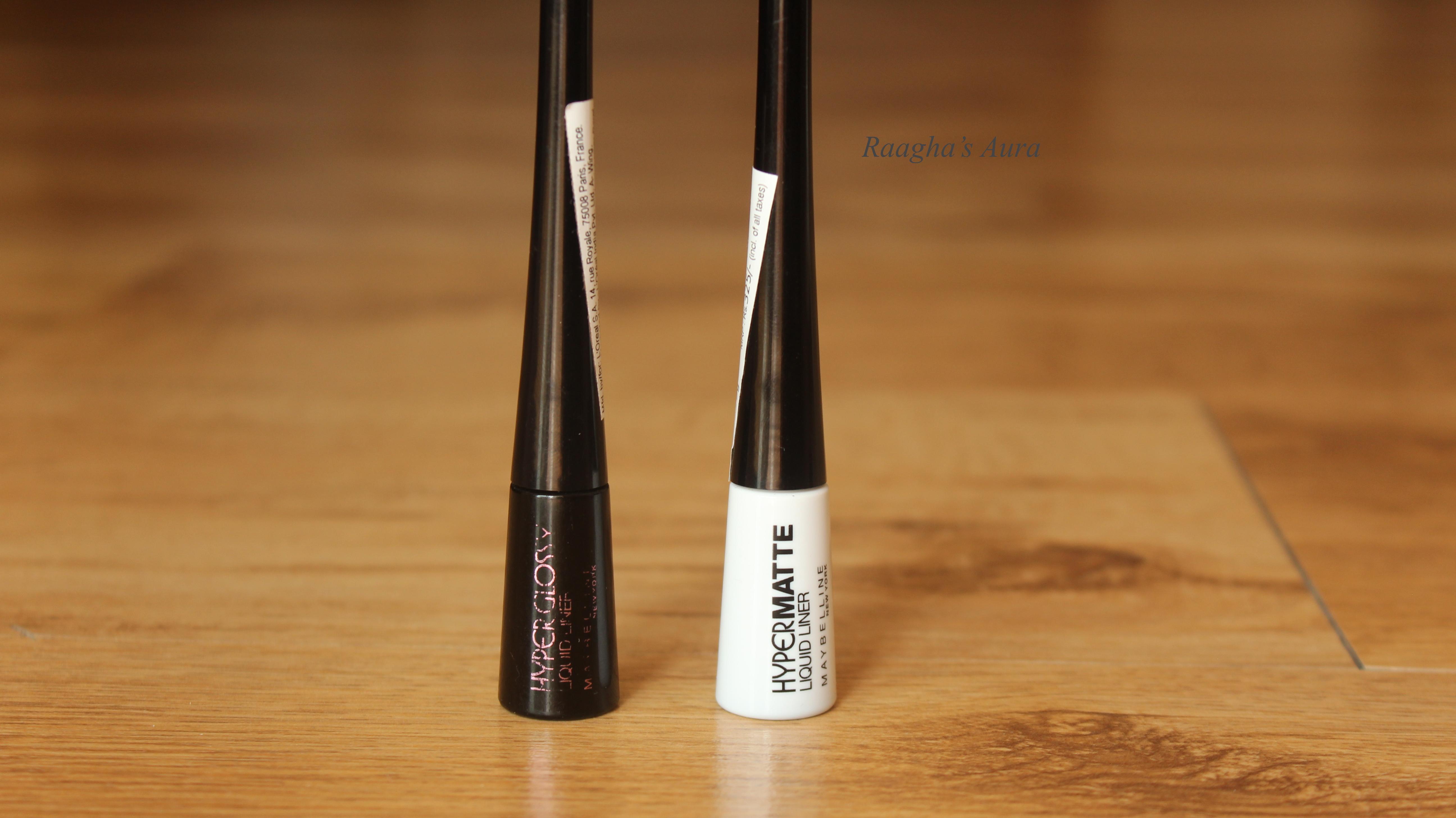 Maybelline Hyper Gloss Vs Matte Liquid Liner Review Raaghas Ink